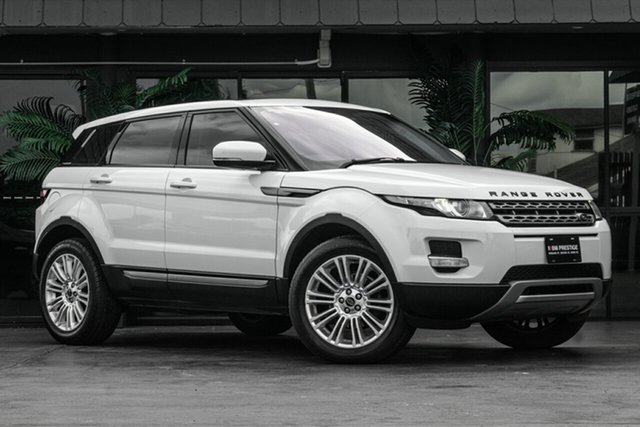 Used Land Rover Range Rover Evoque L538 MY13 TD4 CommandShift Pure Bowen Hills, 2012 Land Rover Range Rover Evoque L538 MY13 TD4 CommandShift Pure White 6 Speed Sports Automatic