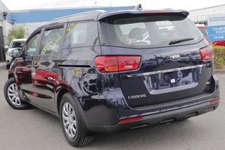 2018 Kia Carnival YP MY19 S Deep Chroma Blue 8 Speed Sports Automatic Wagon.