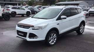 2014 Ford Kuga TF MY15 Trend AWD White 6 Speed Sports Automatic Wagon