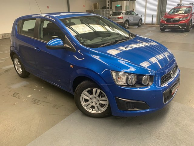 Used Holden Barina TM Hornsby, 2011 Holden Barina TM Blue 6 Speed Automatic Hatchback