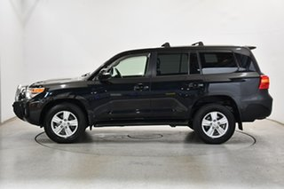 2013 Toyota Landcruiser VDJ200R MY12 VX Black 6 Speed Sports Automatic Wagon.