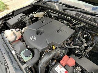 2016 Toyota Hilux GUN126R SR Double Cab Black 6 Speed Sports Automatic Utility
