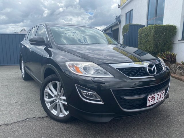 Used Mazda CX-9 TB10A4 MY12 Luxury, 2012 Mazda CX-9 TB10A4 MY12 Luxury Black 6 Speed Sports Automatic Wagon