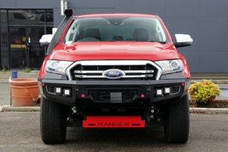 2019 Ford Ranger PX MkIII 2019.00MY XLT Red 10 Speed Sports Automatic Super Cab Pick Up