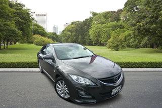 2011 Mazda 6 GH1052 MY12 Touring Grey 5 Speed Sports Automatic Sedan.