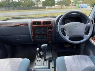 2001 Toyota Landcruiser Prado White 4 Speed Automatic Wagon