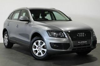 2009 Audi Q5 8R MY10 TFSI S Tronic Quattro Silver 7 Speed Sports Automatic Dual Clutch Wagon.