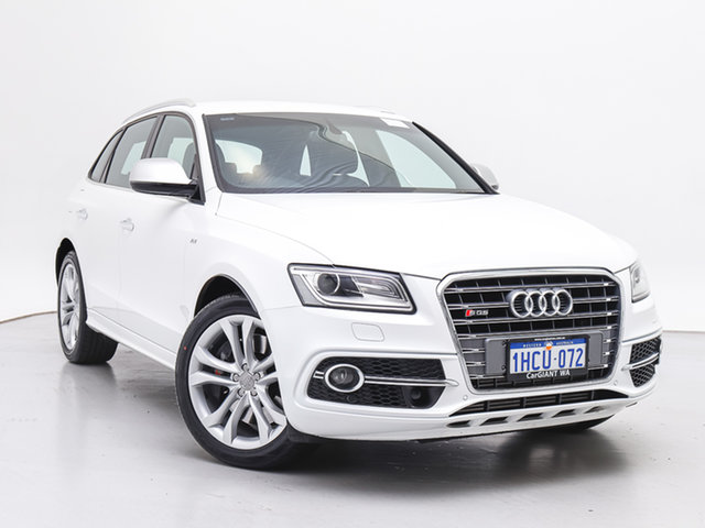 Used Audi SQ5 8R MY17 3.0 TDI Quattro, 2016 Audi SQ5 8R MY17 3.0 TDI Quattro White 8 Speed Automatic Wagon