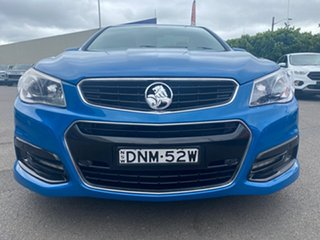 2013 Holden Ute VF MY14 SV6 Ute Blue 6 Speed Manual Utility.