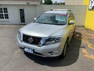 2016 Nissan Pathfinder R52 MY15 ST X-tronic 4WD Silver 1 Speed Constant Variable Wagon.