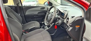 2012 Holden Barina TM Red 5 Speed Manual Sedan