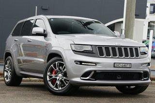 2016 Jeep Grand Cherokee WK MY16 SRT Silver 8 Speed Sports Automatic Wagon.