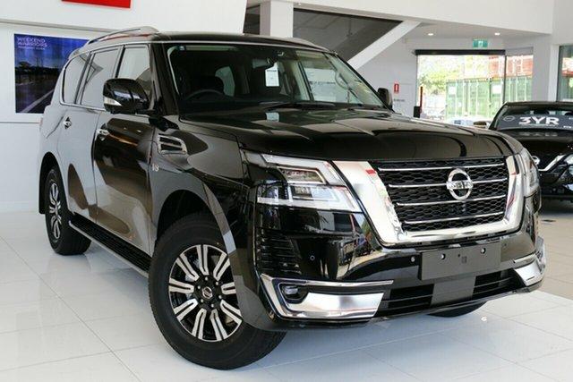 New Nissan Patrol Y62 MY21 TI-L Clarkson, 2021 Nissan Patrol Y62 MY21 TI-L Gun Metallic 7 Speed Sports Automatic Wagon
