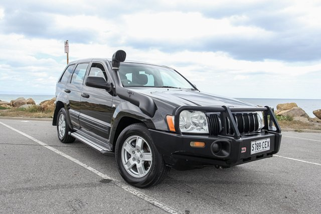 Used Jeep Grand Cherokee WH MY2006 Laredo Lonsdale, 2006 Jeep Grand Cherokee WH MY2006 Laredo Black 5 Speed Automatic Wagon