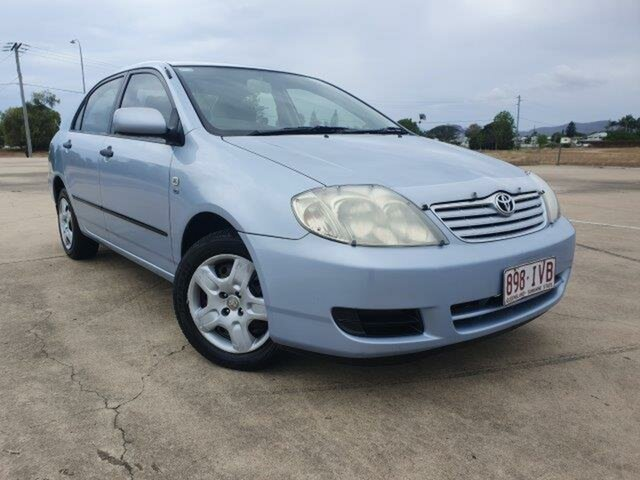 Used Toyota Corolla ZZE122R 5Y Ascent, 2005 Toyota Corolla ZZE122R 5Y Ascent Blue 5 Speed Manual Sedan
