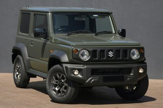 2020 Suzuki Jimny JB74 Jungle Green 5 Speed Manual Hardtop.