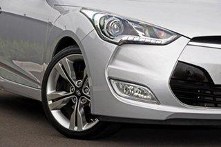 2013 Hyundai Veloster Silver Hatchback.