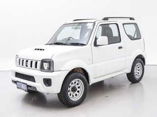 2013 Suzuki Jimny Sierra (4x4) White 4 Speed Automatic 4x4 Wagon.