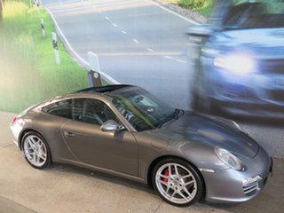 2010 Porsche 911 997 MY10 Targa 4S Abarth Grey 7 Speed Auto Dual Clutch Coupe.
