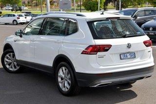 2019 Volkswagen Tiguan 5N MY20 132TSI Comfortline DSG 4MOTION Allspace White 7 Speed.