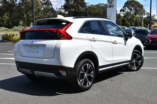 2020 Mitsubishi Eclipse Cross YA MY20 LS 2WD White Pearl 8 Speed Constant Variable Wagon