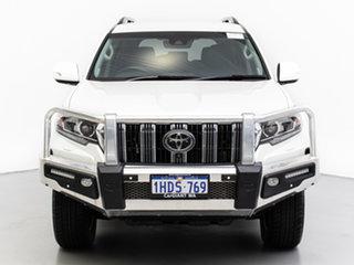 2017 Toyota Landcruiser Prado GDJ150R MY17 VX (4x4) White 6 Speed Automatic Wagon.
