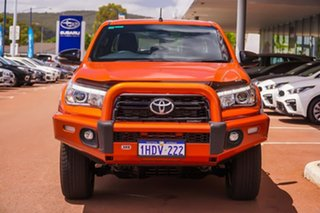 2019 Toyota Hilux GUN126R Rogue Double Cab Orange 6 Speed Sports Automatic Utility