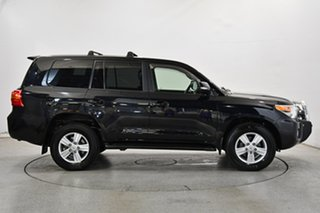 2013 Toyota Landcruiser VDJ200R MY12 VX Black 6 Speed Sports Automatic Wagon