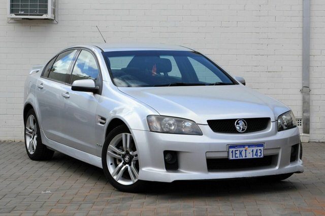 Used Holden Commodore VE MY10 SV6, 2010 Holden Commodore VE MY10 SV6 Silver 6 Speed Sports Automatic Sedan