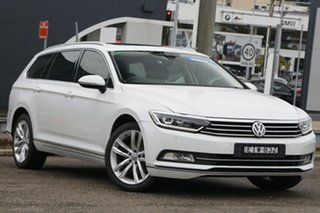 2015 Volkswagen Passat 3C (B8) MY16 140TDI DSG Highline White 6 Speed Sports Automatic Dual Clutch.