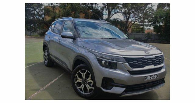 Demo Kia Seltos SP2 MY21 Sport+ 2WD St Marys, 2020 Kia Seltos SP2 MY21 Sport+ 2WD Steel Grey 1 Speed Constant Variable Wagon