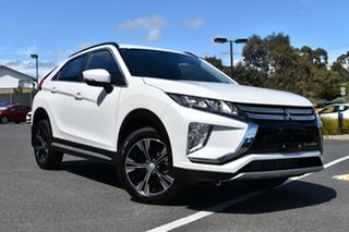 2020 Mitsubishi Eclipse Cross YA MY20 LS 2WD White Pearl 8 Speed Constant Variable Wagon.