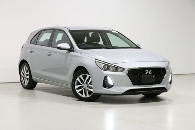 Used Hyundai i30 PD2 MY19 Active Bentley, 2019 Hyundai i30 PD2 MY19 Active Silver 6 Speed Automatic Hatchback