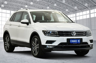 2019 Volkswagen Tiguan 5N MY19.5 162TSI DSG 4MOTION Highline Pure White 7 Speed.
