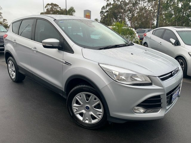 Used Ford Kuga TF MY16 Ambiente AWD Bunbury, 2016 Ford Kuga TF MY16 Ambiente AWD Silver 6 Speed Sports Automatic Wagon
