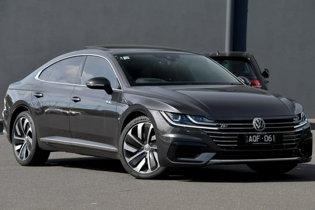 Used Volkswagen Arteon 3H MY18 206TSI Sedan DSG 4MOTION R-Line Moorabbin, 2017 Volkswagen Arteon 3H MY18 206TSI Sedan DSG 4MOTION R-Line Grey 7 Speed