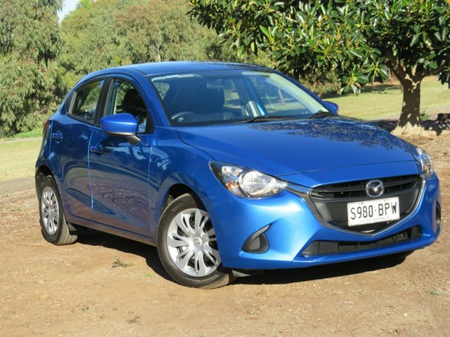 Used Mazda 2 DJ2HA6 Neo SKYACTIV-MT, 2015 Mazda 2 DJ2HA6 Neo SKYACTIV-MT Blue 6 Speed Manual Hatchback