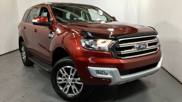Used Ford Everest UA 2018.00MY Trend Elizabeth, 2018 Ford Everest UA 2018.00MY Trend Red 6 Speed Sports Automatic SUV