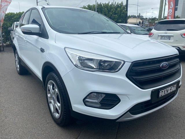 Used Ford Escape  , 2018 Ford Escape White Automatic SUV