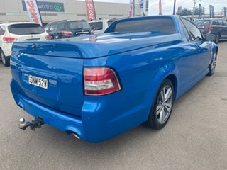 2013 Holden Ute VF MY14 SV6 Ute Blue 6 Speed Manual Utility