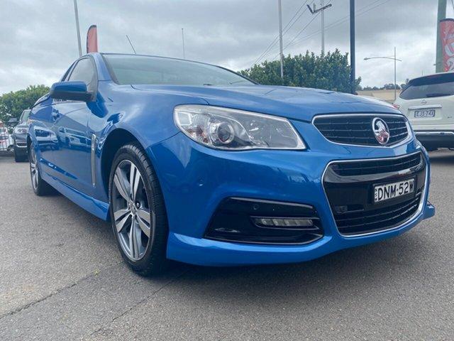 Used Holden Ute VF MY14 SV6 Ute, 2013 Holden Ute VF MY14 SV6 Ute Blue 6 Speed Manual Utility