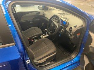 2011 Holden Barina TM Blue 6 Speed Automatic Hatchback