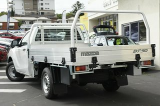 2020 Mazda BT-50 UR0YE1 XT 4x2 White 6 Speed Manual Cab Chassis.
