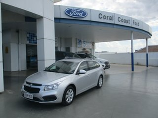 2015 Holden Cruze JH MY14 CD Silver 6 Speed Automatic Sportswagon.