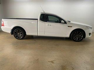 2014 Ford Falcon FG X White 6 Speed Auto Seq Sportshift Utility.