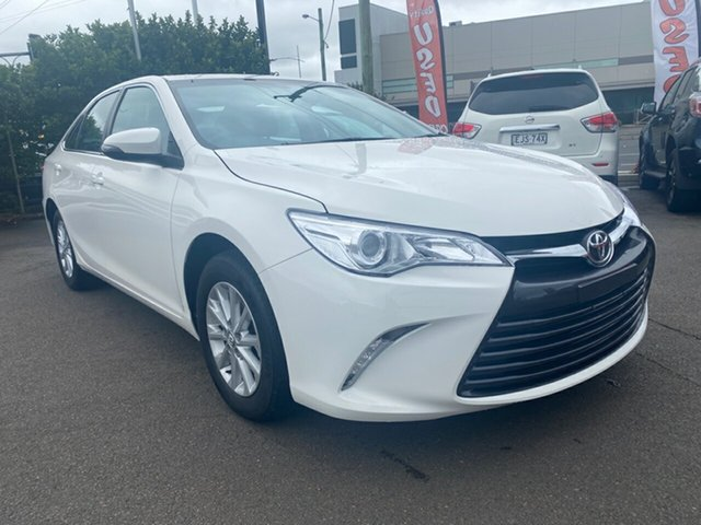Used Toyota Camry ASV50R Altise Cardiff, 2016 Toyota Camry ASV50R Altise White 6 Speed Sports Automatic Sedan