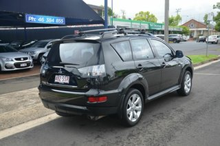 2012 Mitsubishi Outlander ZH MY12 LS (FWD) Black 6 Speed CVT Auto Sequential Wagon