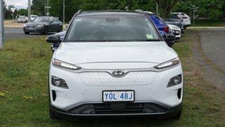 2020 Hyundai Kona OSEV.2 MY20 electric Highlander Chalk White & Phantom Black Roof 1 Speed.