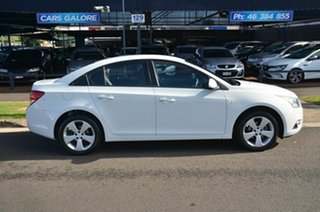 2013 Holden Cruze JH MY14 Equipe White 6 Speed Automatic Sedan.