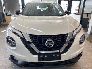 2020 Nissan Juke F16 ST-L DCT 2WD Ivory Pearl 7 Speed Sports Automatic Dual Clutch Hatchback.